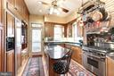 Updated kitchen with gas range - 1923 S ST NW, WASHINGTON