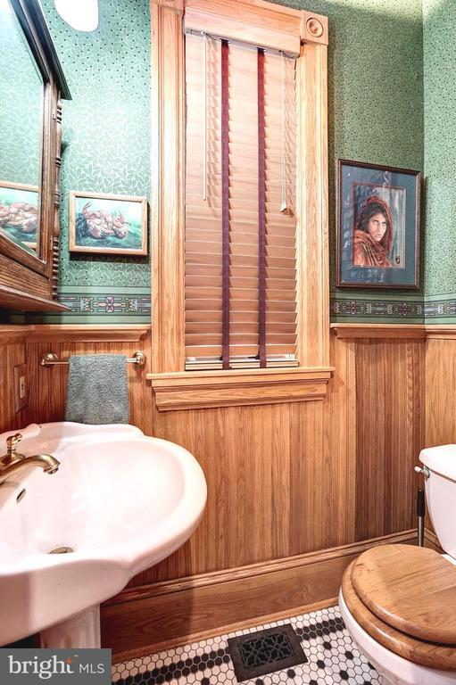First floor half bathroom - 1923 S ST NW, WASHINGTON
