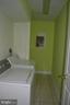 Laundry room in main level - 7207 RIDGEWAY DR, MANASSAS