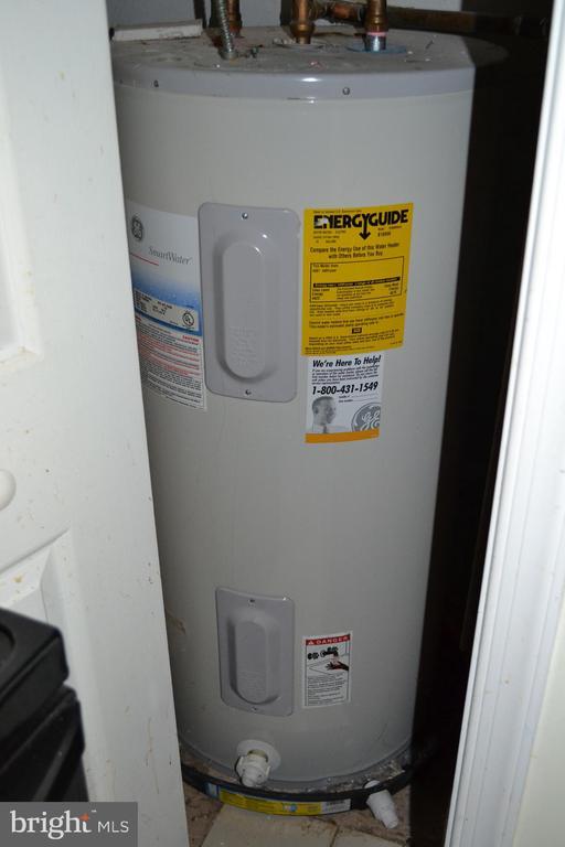 Water heater off kitchen - 7207 RIDGEWAY DR, MANASSAS