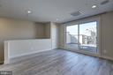 Upper level family room - 6634 EAMES WAY, BETHESDA