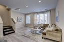 Living room - 6634 EAMES WAY, BETHESDA