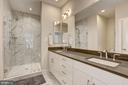 Master bathroom - 6634 EAMES WAY, BETHESDA