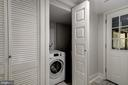 Lower Level Laundry All-in-1 Unit - 2807 6TH ST NE, WASHINGTON