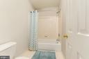 Bathroom for Bedroom #3 & #4 - 4917 EDGE ROCK DR, CHANTILLY
