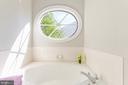 Master bath soaking tub - 4917 EDGE ROCK DR, CHANTILLY