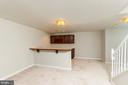 Finished lower level - 4917 EDGE ROCK DR, CHANTILLY