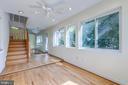 Hallway to Upstairs or Upper Floor - 3137 S GLEBE RD, ARLINGTON