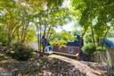 Backyard - 3137 S GLEBE RD, ARLINGTON