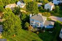 Aerial Rear - 15891 JESTER CT, DUMFRIES