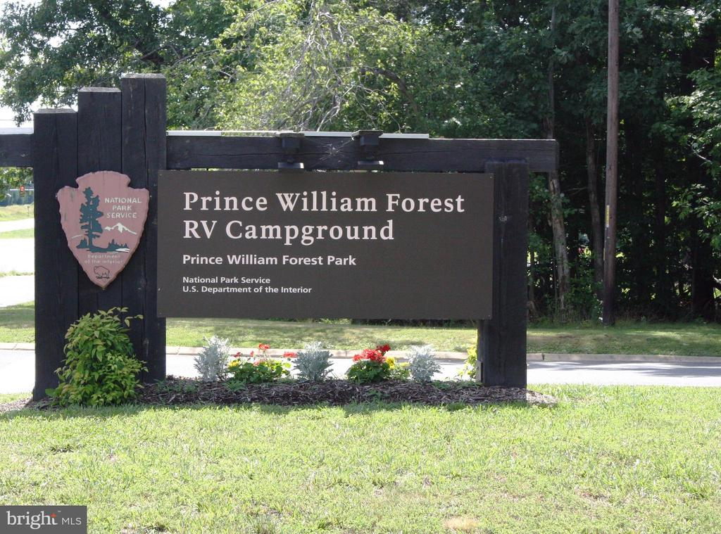 Surrounded by Prince William National Forest Park - 15891 JESTER CT, DUMFRIES