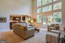 Wall of windows! - 11206 VALOR BRIDGE DR, SPOTSYLVANIA