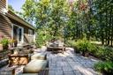 Patio perfect for entertaining - 11206 VALOR BRIDGE DR, SPOTSYLVANIA