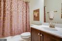 Attached bathroom - 11206 VALOR BRIDGE DR, SPOTSYLVANIA