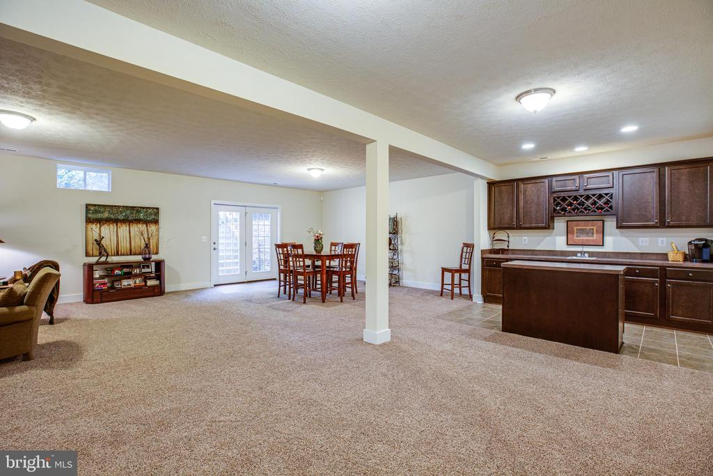 Rec room with a kitchenette - 11206 VALOR BRIDGE DR, SPOTSYLVANIA