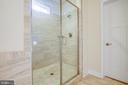 Extra-large separate shower - 11206 VALOR BRIDGE DR, SPOTSYLVANIA