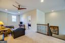 Upper-level family room - 11206 VALOR BRIDGE DR, SPOTSYLVANIA