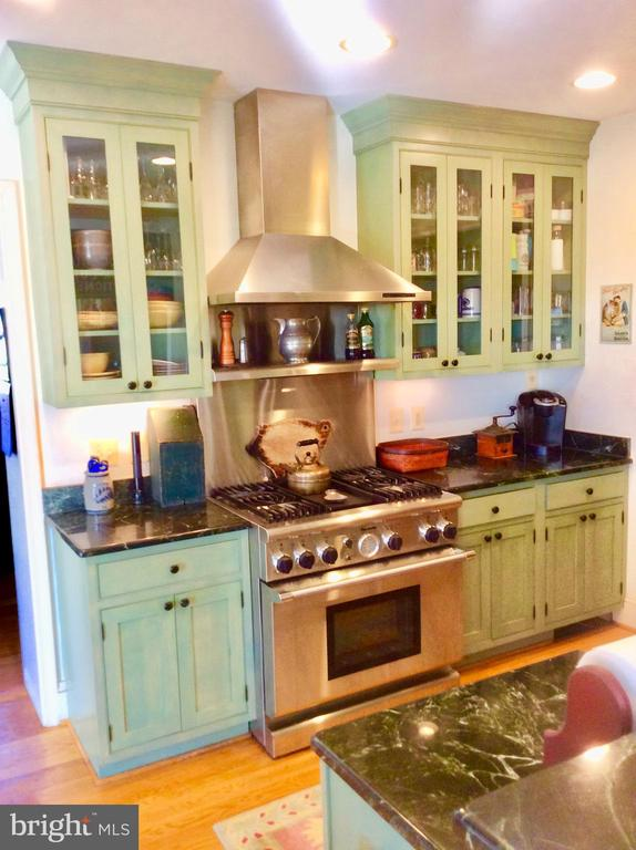 Custom cabinetry & 6 burner Thermador! - 18217 CANBY RD, LEESBURG