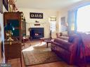 Cozy up to Jotul woodstove in LR w/ HW floors. - 18217 CANBY RD, LEESBURG