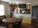 Separate dining off kitchen/LR. - 18217 CANBY RD, LEESBURG