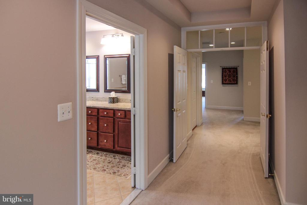 Transom Window Accents Throughout Home. - 18229 CYPRESS POINT TER, LEESBURG