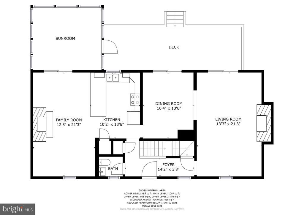 Main Level - 1409 BAY HEAD RD, ANNAPOLIS