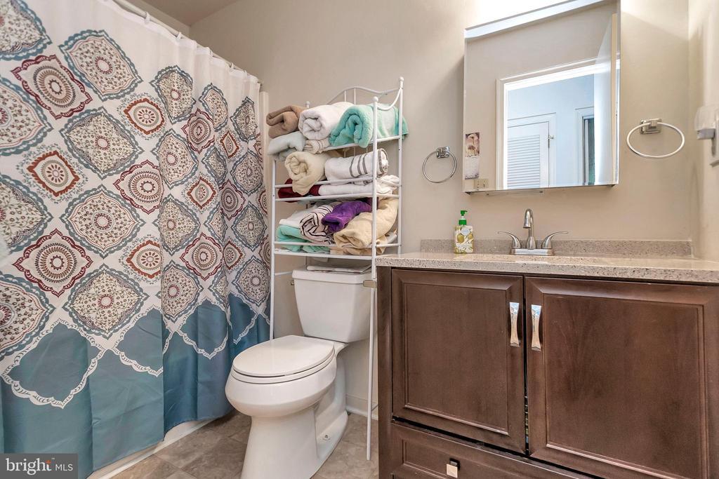 hall bathroom - 143 EAGLE CT, LOCUST GROVE
