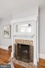 Fireplace - 1667 MONROE ST NW, WASHINGTON