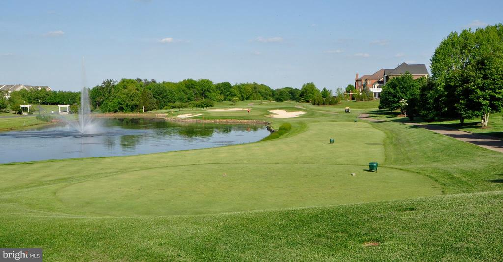 River Creek's Golf Course and Ponds. - 18229 CYPRESS POINT TER, LEESBURG