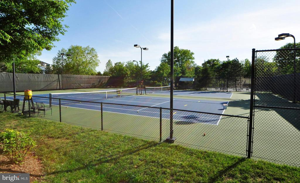 River Creek has Tennis and Basketball Courts. - 18229 CYPRESS POINT TER, LEESBURG