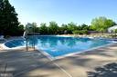 View of Community Pool. - 18229 CYPRESS POINT TER, LEESBURG