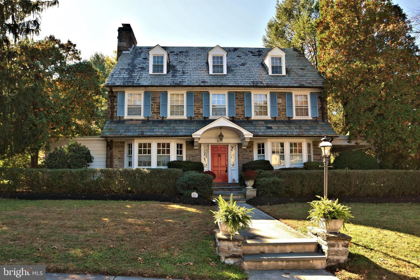 Single Family Homes for Sale at Jenkintown, Pennsylvania 19046 United States