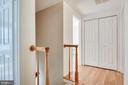 Upstairs hallway. - 6132 POBURN LANDING CT, BURKE