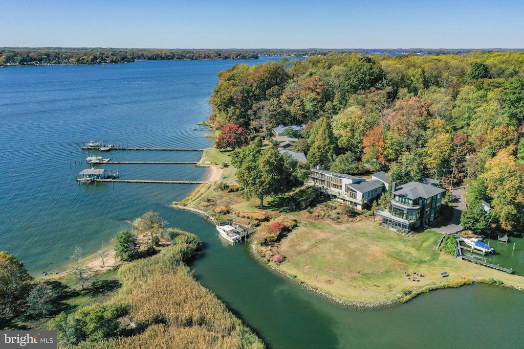Aerial View of the property - 1 DEMYAN DR, ANNAPOLIS