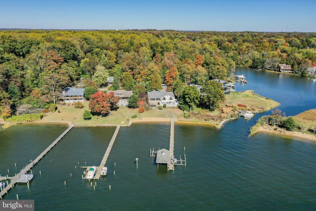 Another overhead view - 1 DEMYAN DR, ANNAPOLIS
