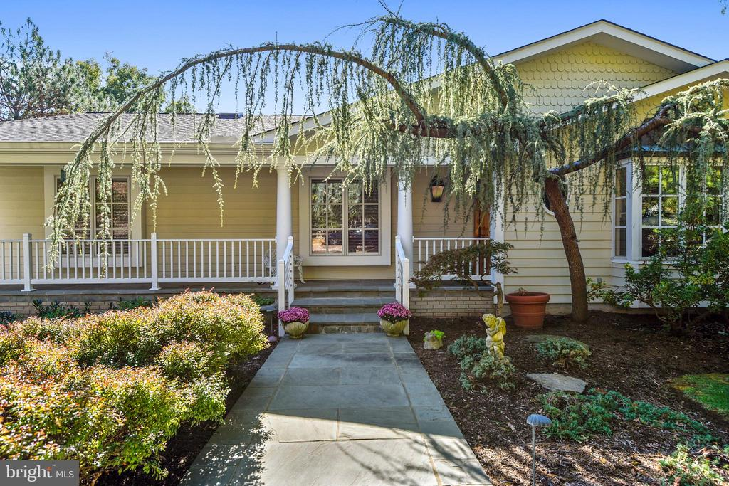 Specimen plantings on this custom built home - 1 DEMYAN DR, ANNAPOLIS
