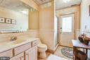 Lower level bathroom with outside entrance to fun! - 1 DEMYAN DR, ANNAPOLIS