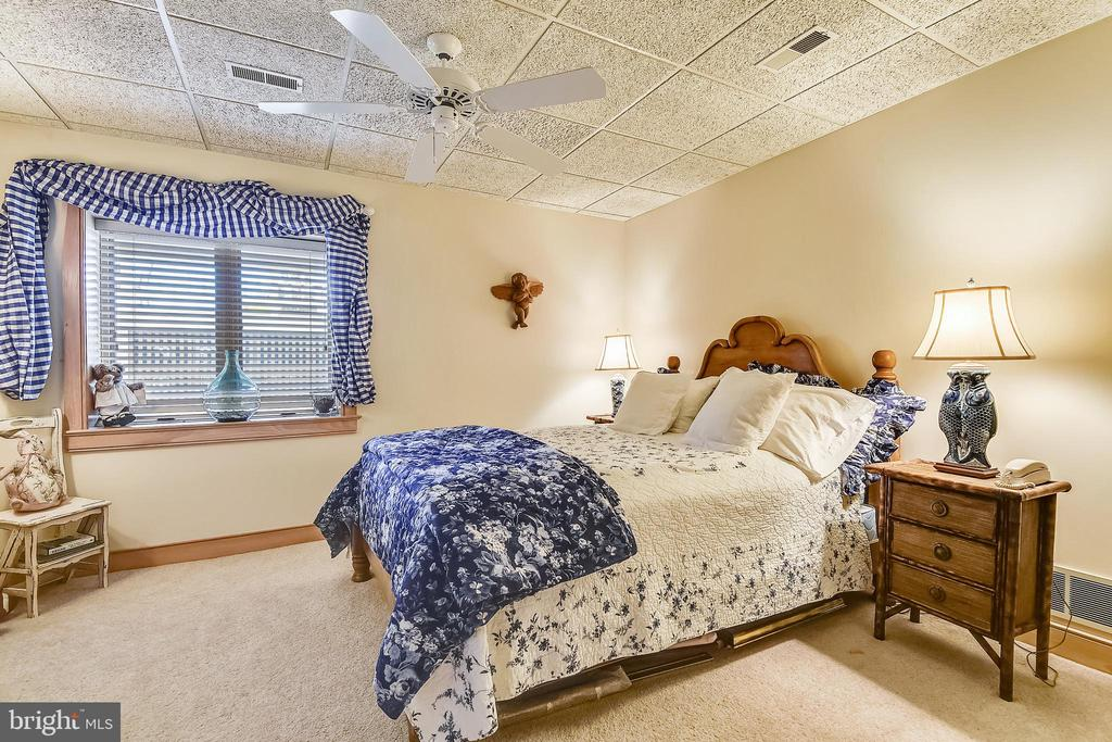 Second lower level bedroom for guests - 1 DEMYAN DR, ANNAPOLIS