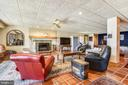 Second family room view/w  one of 12 ceiling fans - 1 DEMYAN DR, ANNAPOLIS