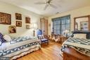 A main level bedroom.  Hardwood floors - 1 DEMYAN DR, ANNAPOLIS