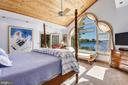 Wake up to gorgeous sunrises in Master Bedroom - 1 DEMYAN DR, ANNAPOLIS
