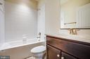 Full bathroom - 72 LOCKSLEY LN, FREDERICKSBURG