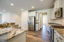 Gourmet kitchen - 72 LOCKSLEY LN, FREDERICKSBURG