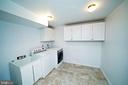 LAUNDRY ROOM - 14308 ARTILLERY CT, CENTREVILLE