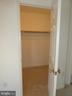 Walk in closet in master bedroom - 9 FULTON DR, STAFFORD
