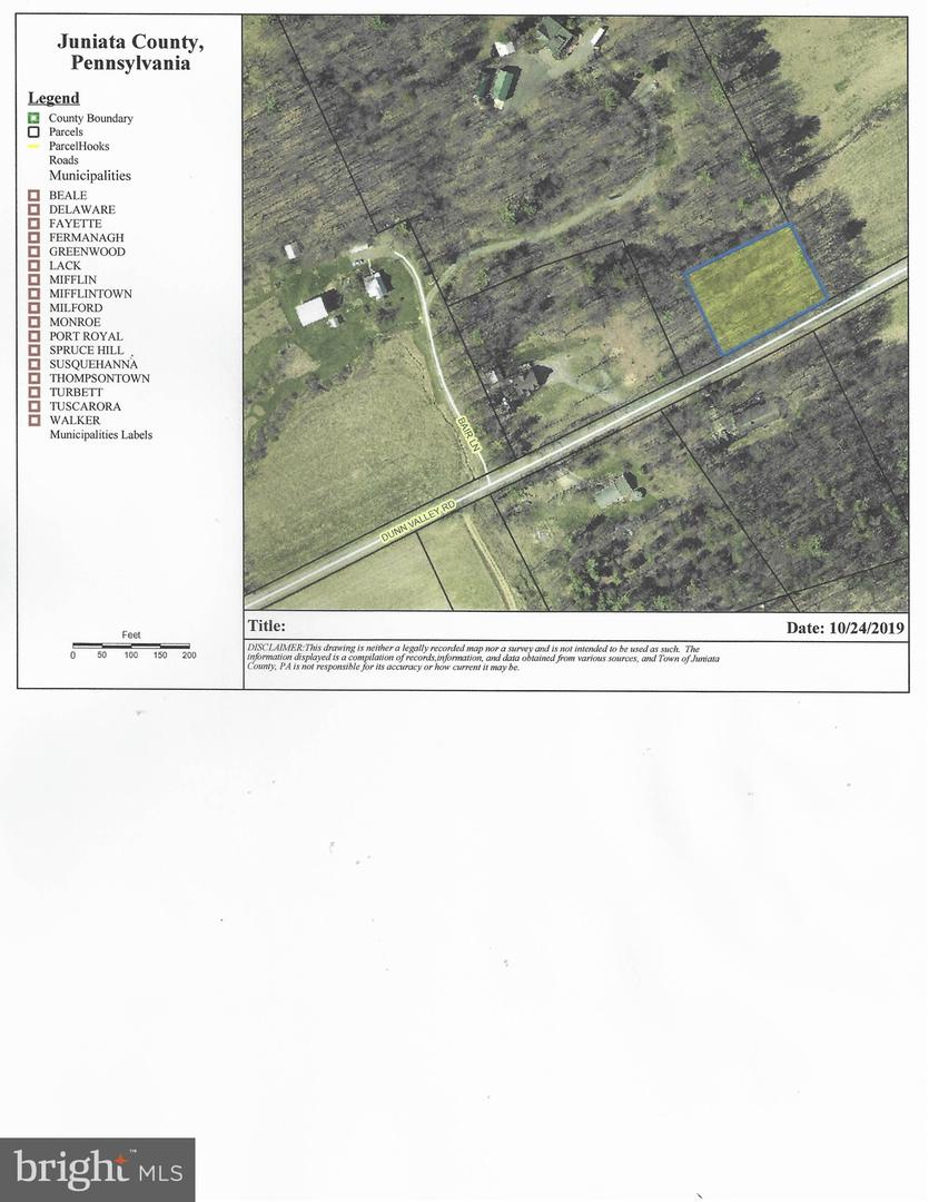 أراضي للـ Sale في Mc Alisterville, Pennsylvania 17049 United States