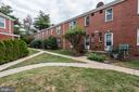 Peaceful courtyard in rear - 316 ASHBY ST #D, ALEXANDRIA