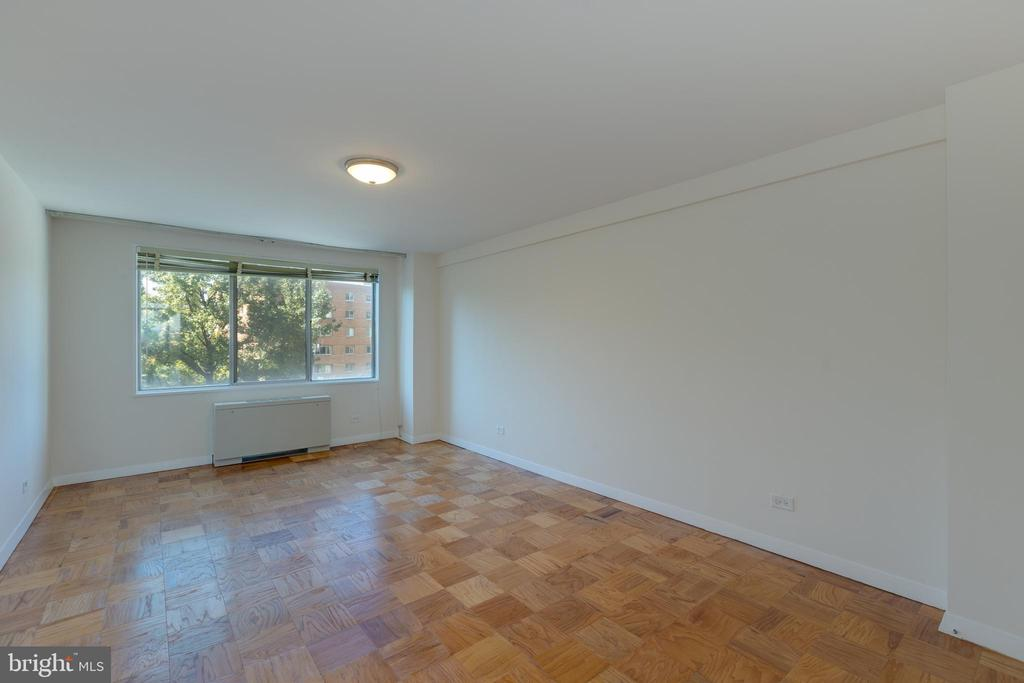 Spacious bedroom with western exposure - 1200 N NASH ST #538, ARLINGTON