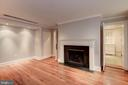 Dining Room With Fireplace - 3340 N ST NW, WASHINGTON