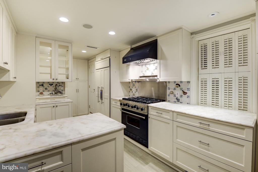 Gourmet Kitchen with Thermador~Refrigerator - 3340 N ST NW, WASHINGTON